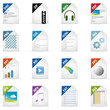 Filetyp Icons - DESIGN No. 3 -