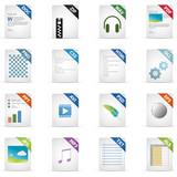 Filetyp Icons - DESIGN No. 2 -