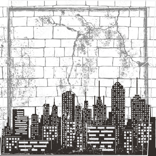 Urban background blank