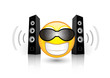 stereo smiley