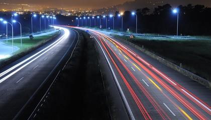 Conducir de noche.