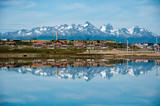 Fototapety Mountain Reflections, Ushuaia, Tierra del Fuego, Argentina