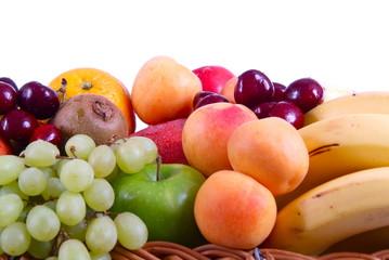 Frische Früchte auf weiß/ H