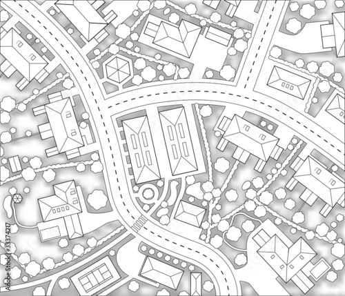Neighborhood cutout