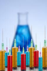 Many syringe