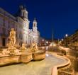 L'alba a Piazza Navona, Roma