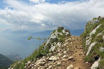 Wanderweg auf dem Monte Baldo