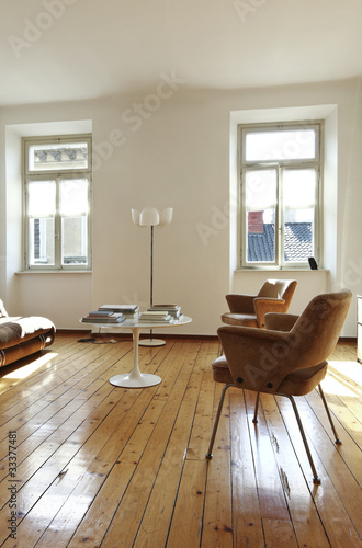 interno di vecchio appartamento