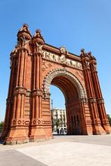Arc de Triomf in Barcelona, Spanien