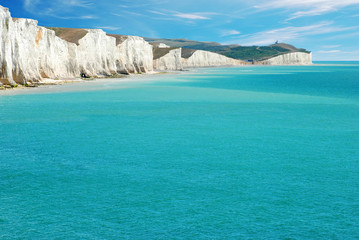 Seven Sisters East Sussex England