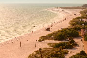 Lido Beach in Siesta Key, Sarasota, Florida