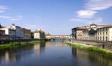 Ponte Vecchio Florenz - die Brücke über den Fluss Arno poster