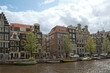 Channel view in Amsterdam, Netherlands