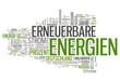 "Wortwolke ""Erneuerbare Energien"""