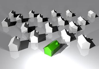 Casa ecologica energia pulita