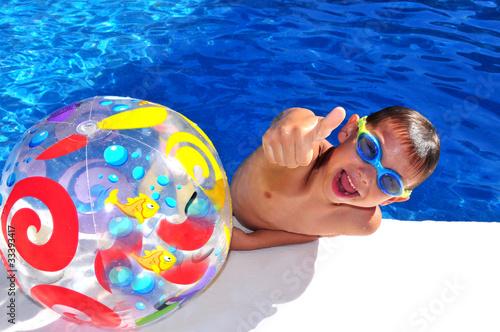 Poster Schwimmer