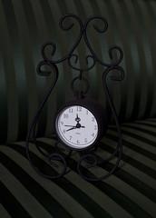 Wrought decoration - clock