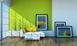 Wohndesign - grün mit Bilder