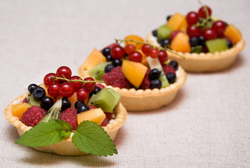 Sweet fruit dessert