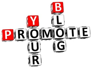 3D Promote Your Blog Crossword