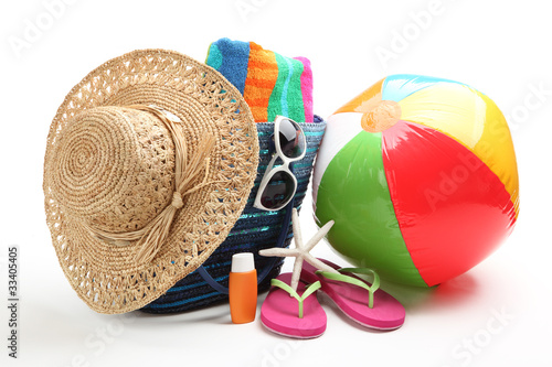 Beach items - 33405405