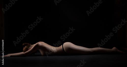 Fototapeten,nude,horizontale,graziös,versuchung
