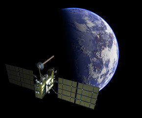 Modern navigation satellite glonass