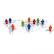 Global Player - Geschäftspartner und internationales Business