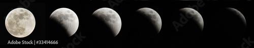Fototapeta Lunar Eclipse