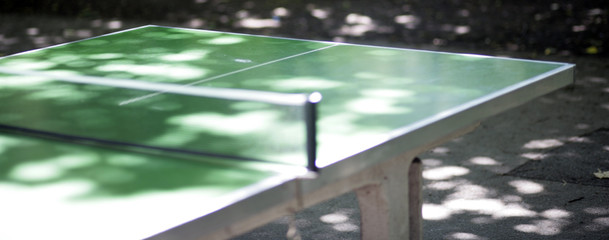 Tischtennis Platte