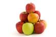 Apfelpyramide