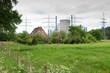 farm and nuclear plant