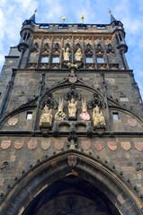 Old Bridge Tower, close-up, Prague