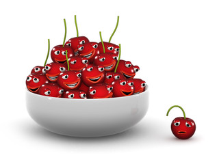 3d Outcast from the bowl of cherries
