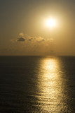Fototapety Sunrise or sunset over sea