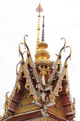 Temploe roof in Thailand.