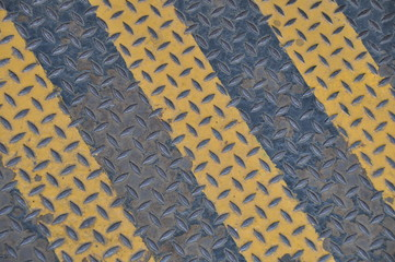 Riffelblech gelb-schwarz
