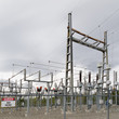 High-voltage transformer substation