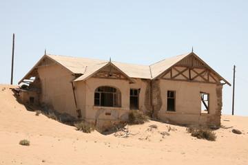 Kolmanskop. Abandoned city.