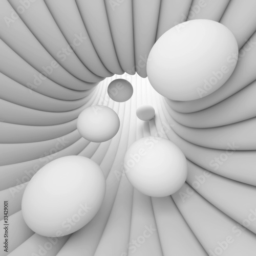 Fototapety, obrazy : White Abstract Background