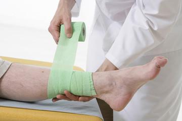 Bandage du pied
