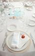 Decorazione marina per nozze