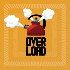 Overloaded Whistling Teapot