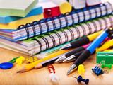 Fototapety School office supplies.