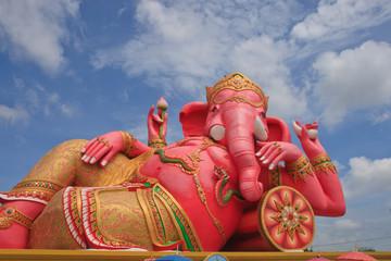 Ganesh sleeping posture