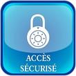 bouton accès sécurisé