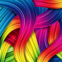 colorful abstract background © illustrart