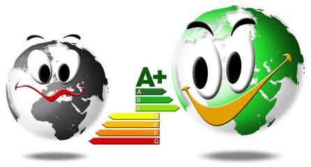 Choosing the global energy saving