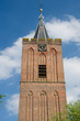 Church tower in Holland