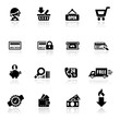 Icons set Shopping